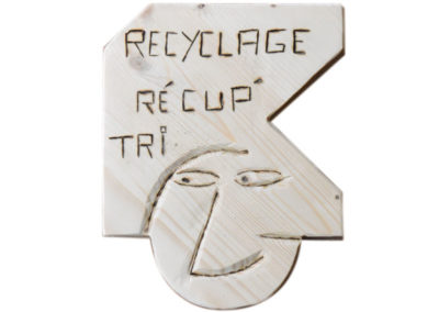 Recyclage - Récupération de bois